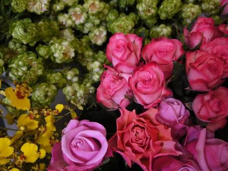 キーパー内のお花