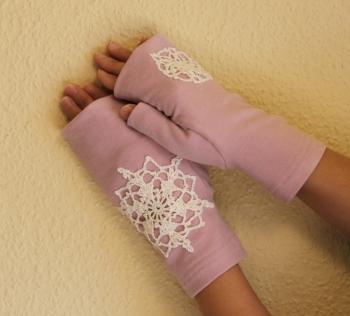 手袋ピンク 1000