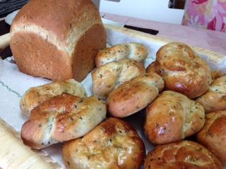 うぐいすパン 食パン