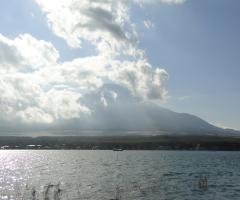忍野~富士山2