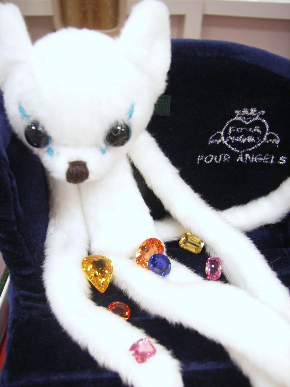 宝石鑑賞 色とりどりの宝石 希心院での宝石ブログの最終回