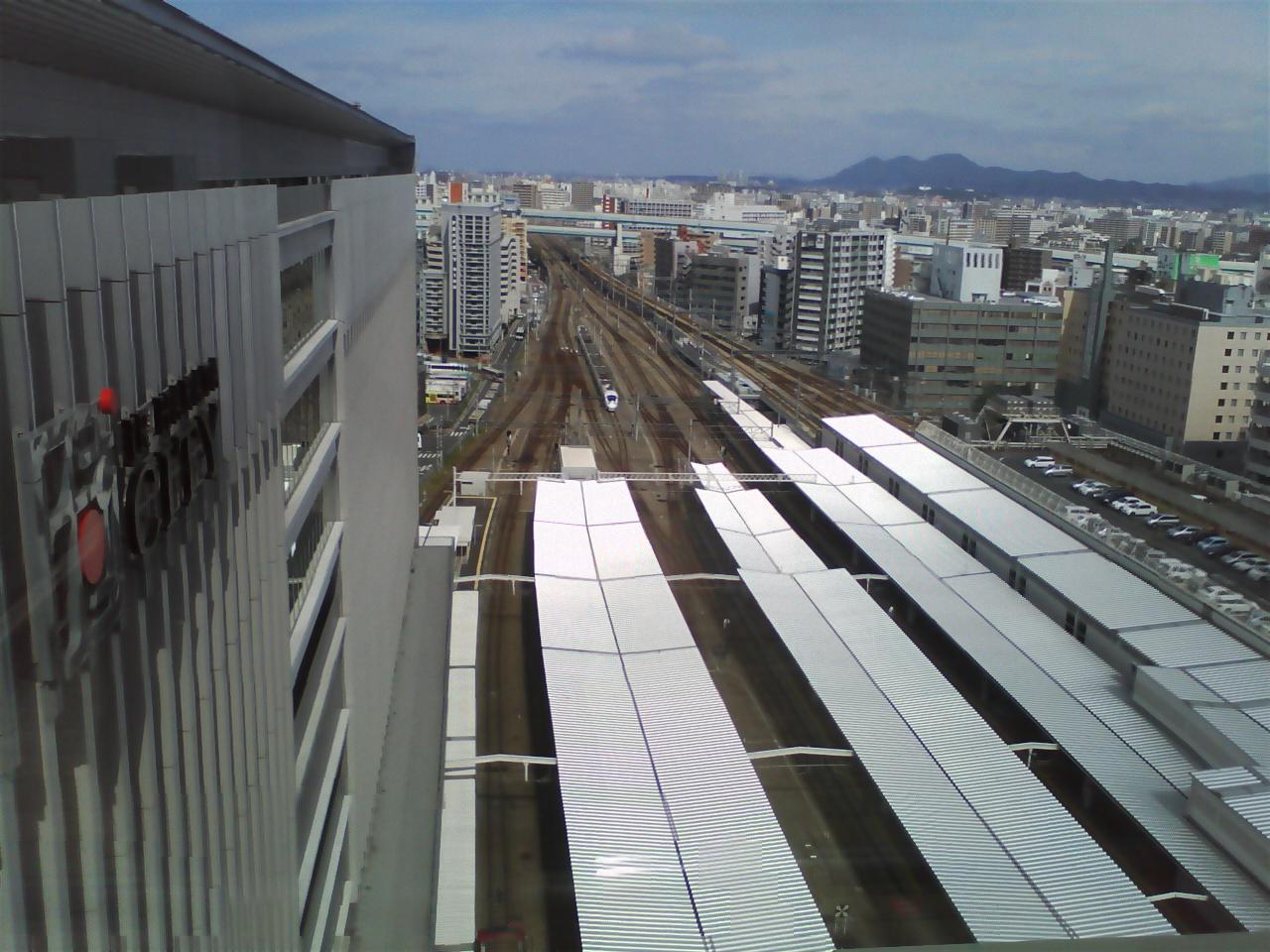 列車展望スペース