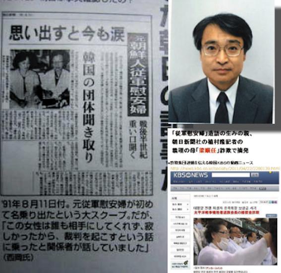 植村記者と朝日新聞記事
