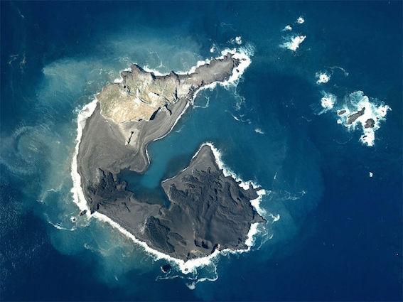小笠原諸島 新島 写真
