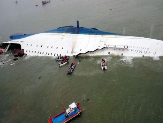 韓国 セウォル号 沈没事故