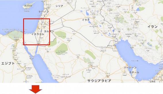 中東地図 0002