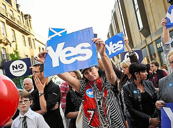 スコットランド 英国からの独立 画像