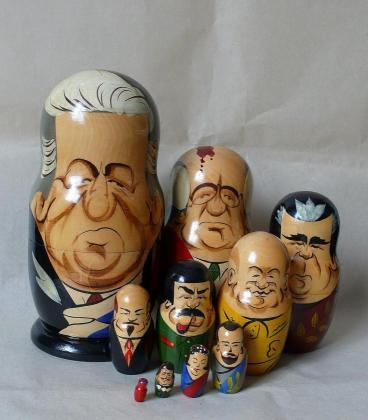 マトリョーシカ人形 (政治家版)