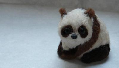 銀座でパンダ
