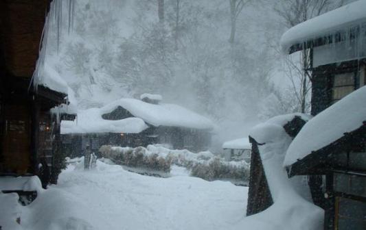 正月 鶴の湯