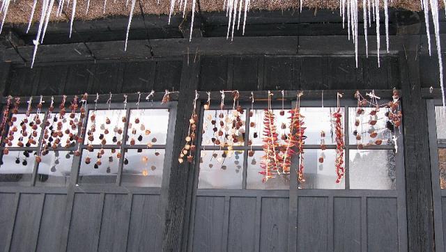 2008.01.02 鶴の湯 干し柿