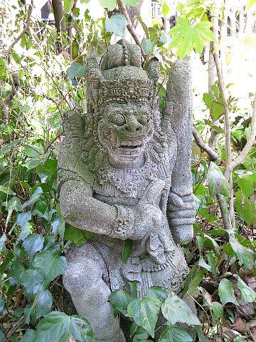 ズーラシア ハヌマン像
