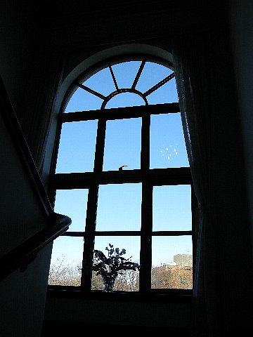 イギリス館 もう一つの窓