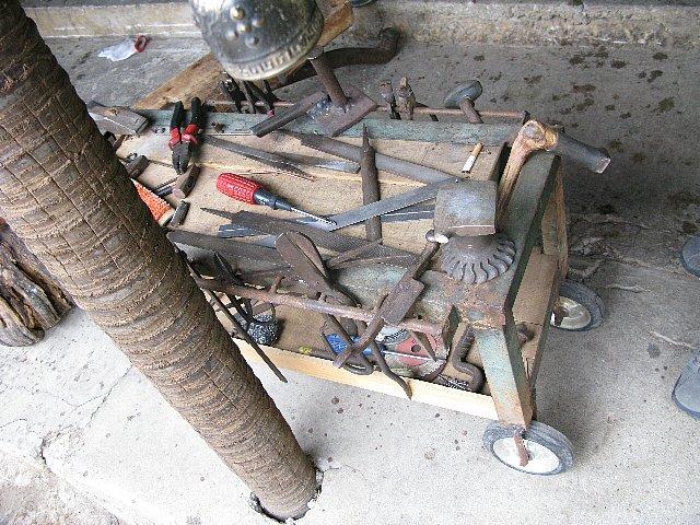 銅鍋製作道具