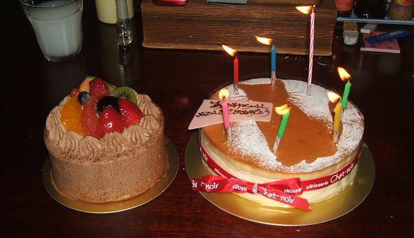 娘の誕生日ケーキ (*^^)v