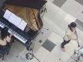 ピアノとクラ