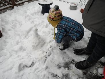 雪景色 お雛様 004