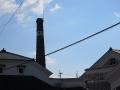 醤油工場の煙突