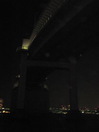 橋の下を通るの巻