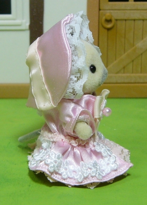 ピンクドレス 横 女の子