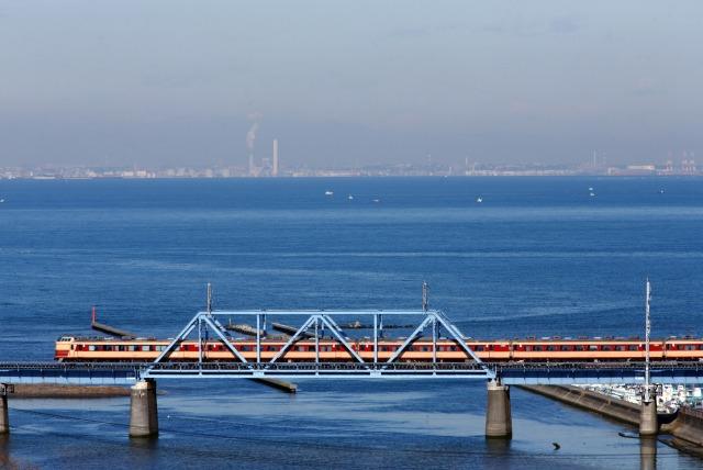 湊川鉄橋俯瞰
