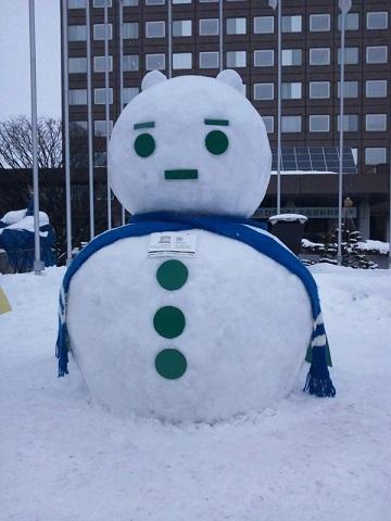 20140208用・雪だるま