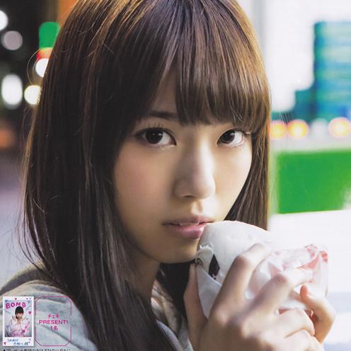 西野七瀬 「TOKYO ネオン」 グラビア画像