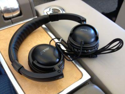 ANAビジネスクラスヘッドフォン