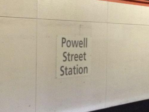 BARTパウエルストリート駅
