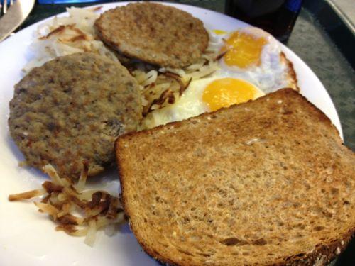 超パワフルな朝ご飯