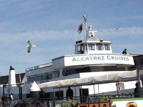 アルカトラズ島クルーズ船