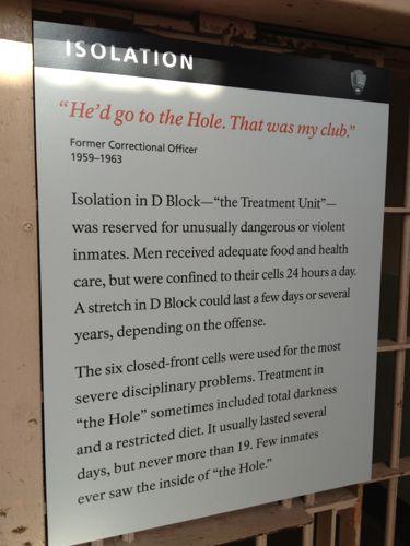 懲罰用独房の説明