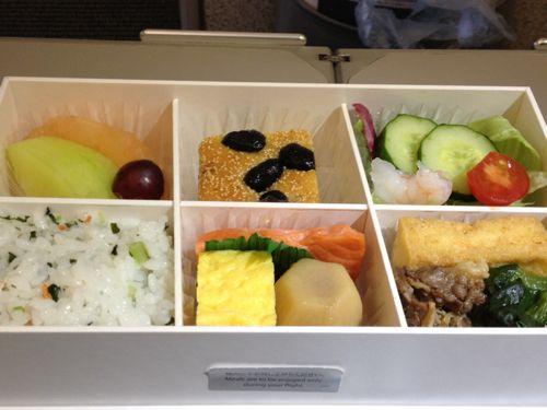 沖縄発プレミアムクラス食事