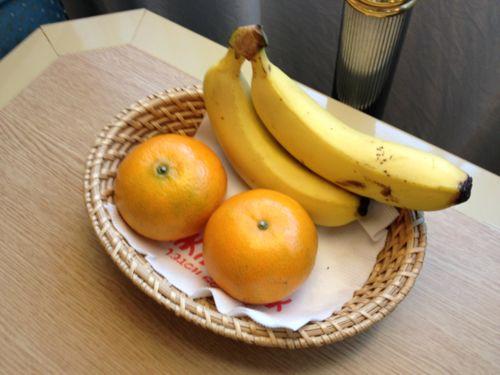 バナナみかん