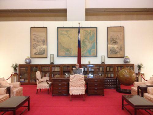蒋介石の執務室を再現