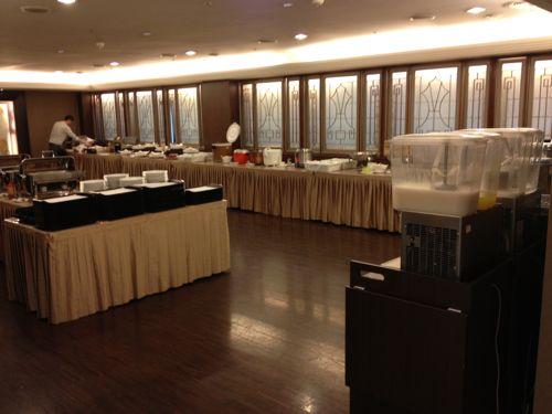 サントスホテル2階の朝食会場
