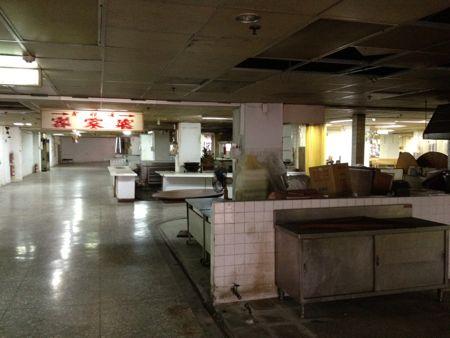 4階の大食堂