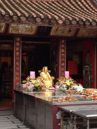 霞海城隍廟神様