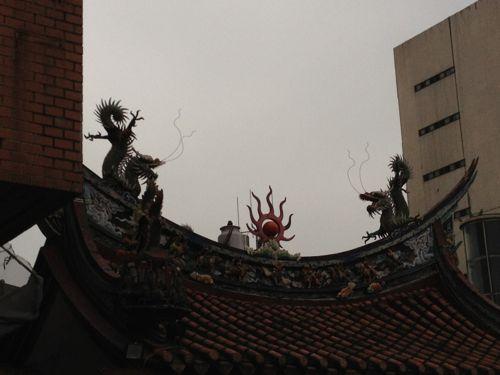 霞海城隍廟天井
