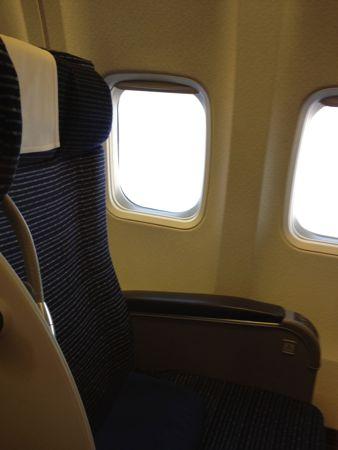 B737の座席