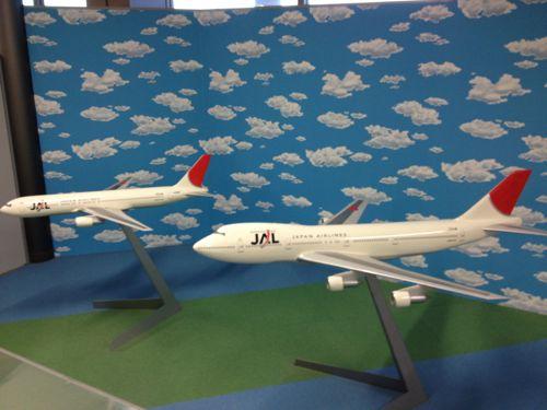 JAL飛行機模型