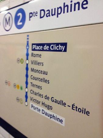 凱旋門の最寄り駅までは6駅