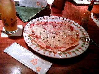 薄焼チリガーリックピザ