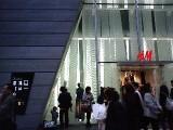 12.22 H&M銀座店