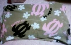 ホヌの枕カバー