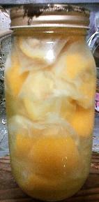 柚子のホワイトリカー漬け