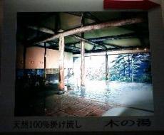 木の湯(内風呂)