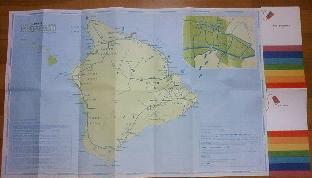 ハワイ島マップ