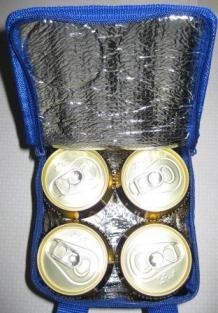 中には350ml缶が4本!