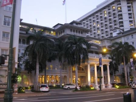 滞在ホテル モアナ サーフライダー